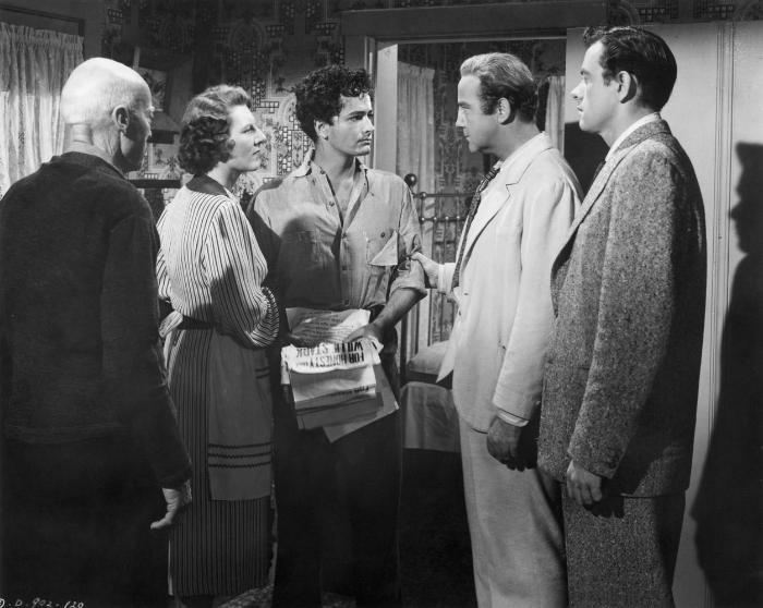 Anne Seymour در صحنه فیلم سینمایی همه مردان پادشاه به همراه جان آیرلند، برودریک کرافورد و John Derek