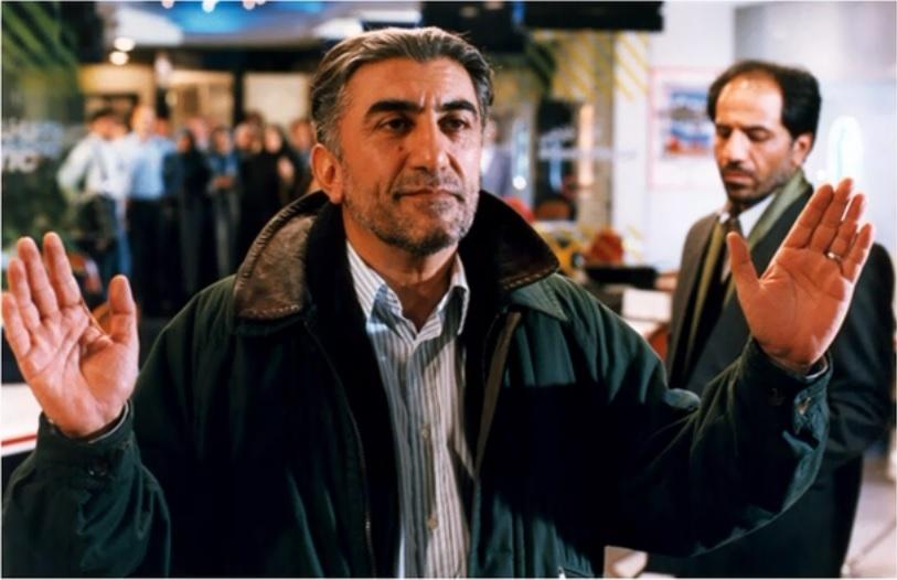 رضا کیانیان در فیلم آژانس شیشهای