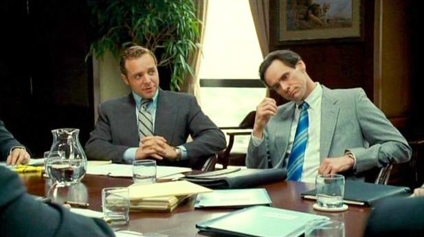 Griff Furst در صحنه فیلم سینمایی دوستت دارم فیلیپ موریس به همراه جیم کری