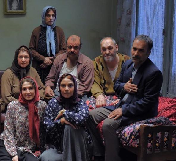 شبنم مقدمی و حمیدرضا آذرنگ در فیلم آباجان