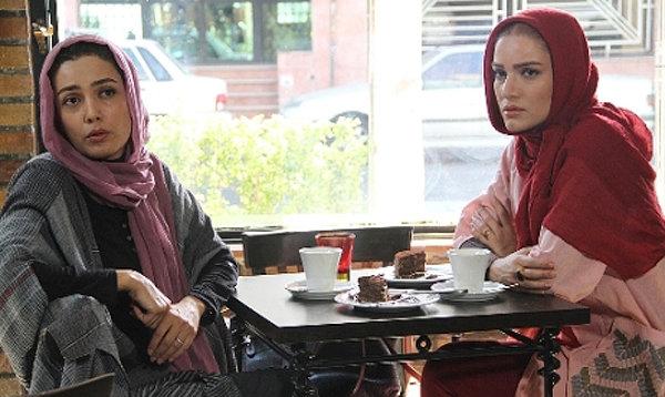 متین ستوده و لیلا زارع در فیلم خانه دیگری