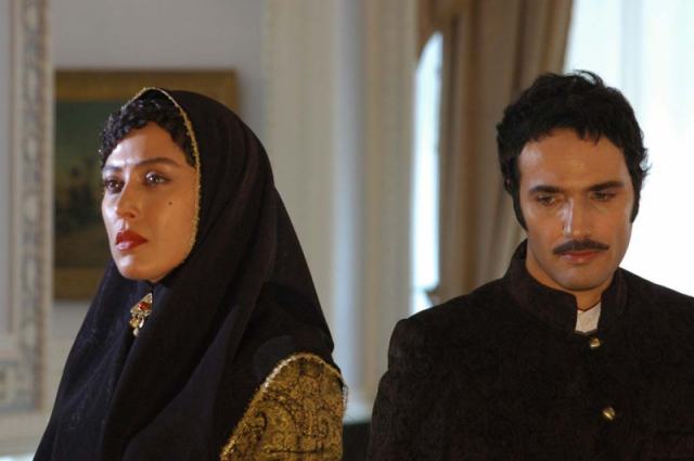 مهتاب کرامتی و محمدرضا فروتن در فیلم شبانه روز