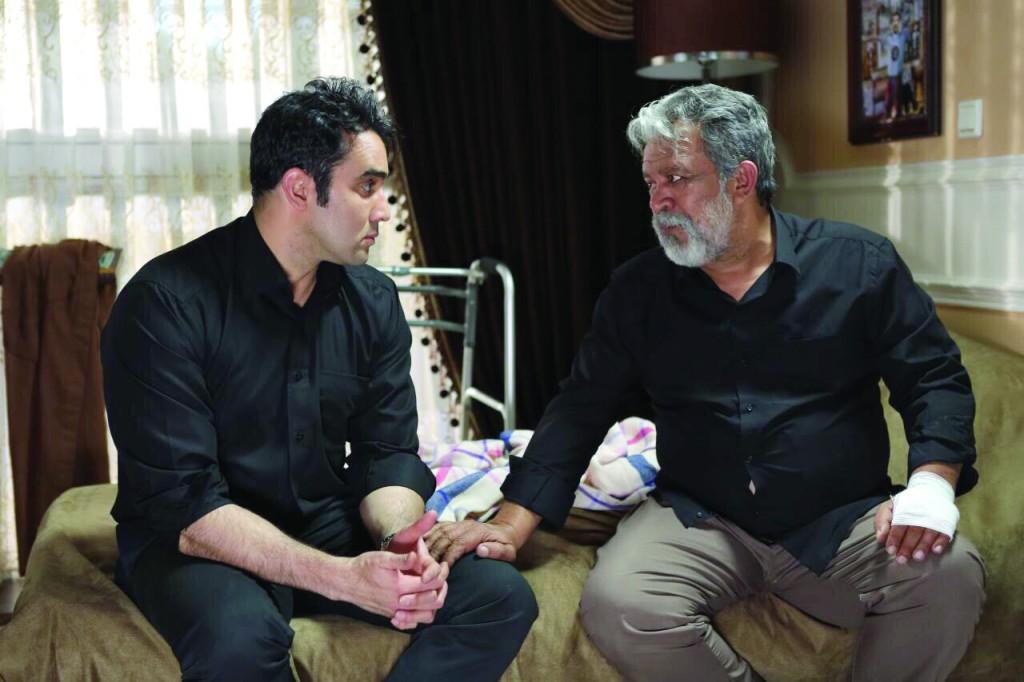 حسن پورشیرازی و پوریا پورسرخ در سریال تلوزیونی برادر