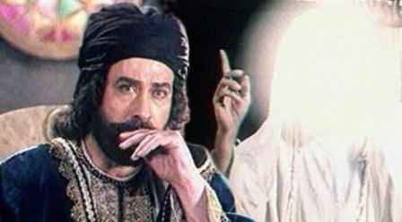 محمد صادقی در صحنه سریال تلویزیونی ولایت عشق