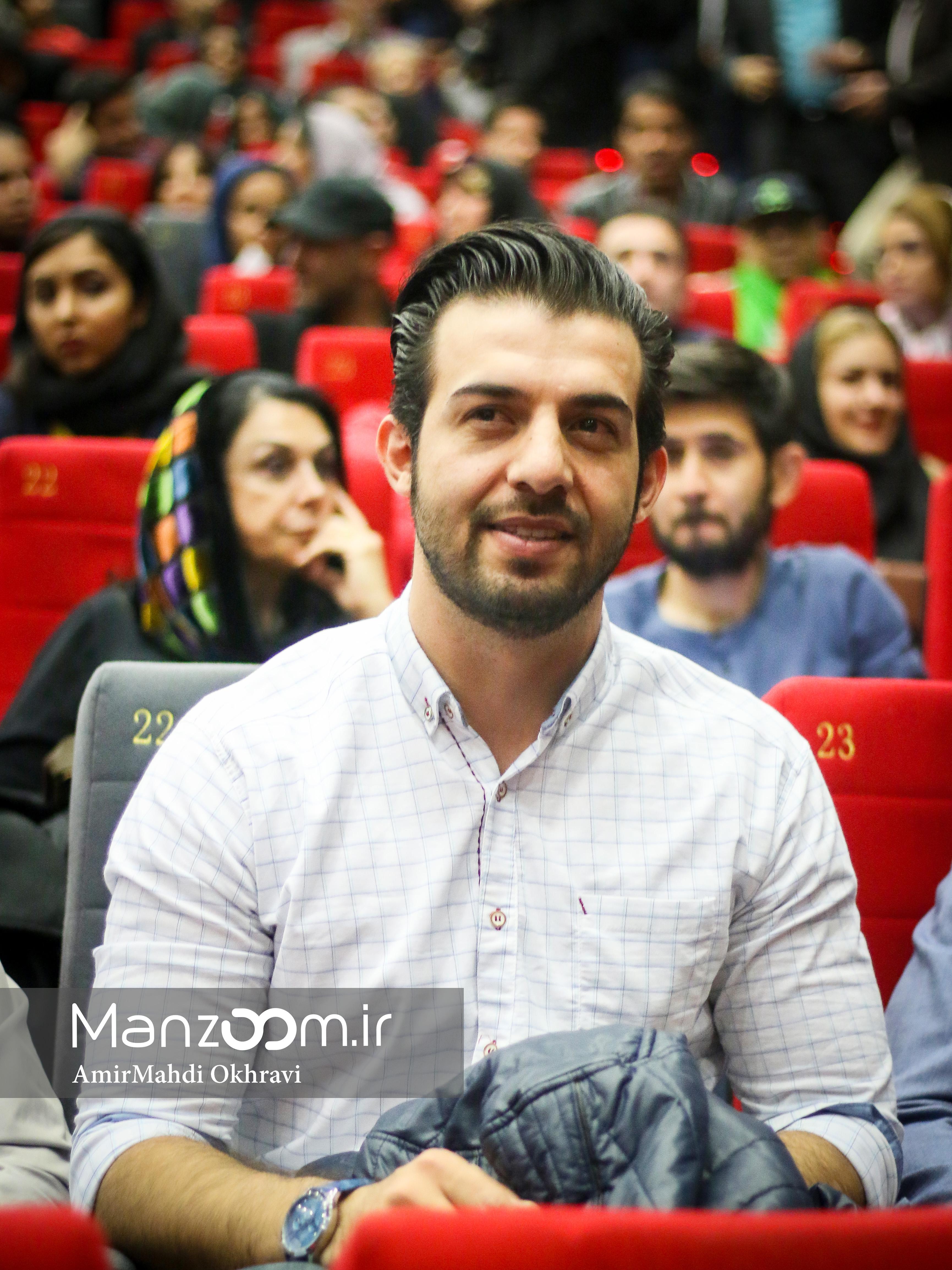 عبدالله روا در اکران افتتاحیه فیلم سینمایی نفس