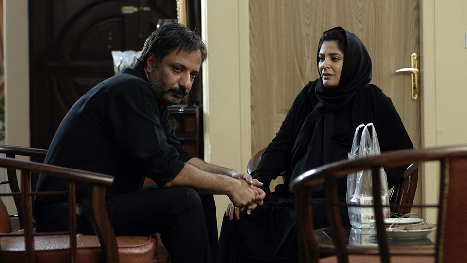 الهام کردا و امیر جعفری در فیلم سینمایی بلوک 9 خروجی 2