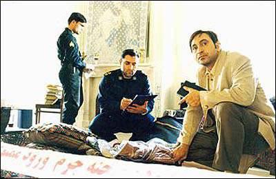 حمید فرخنژاد در فیلم صحنه جرم ورود ممنوع