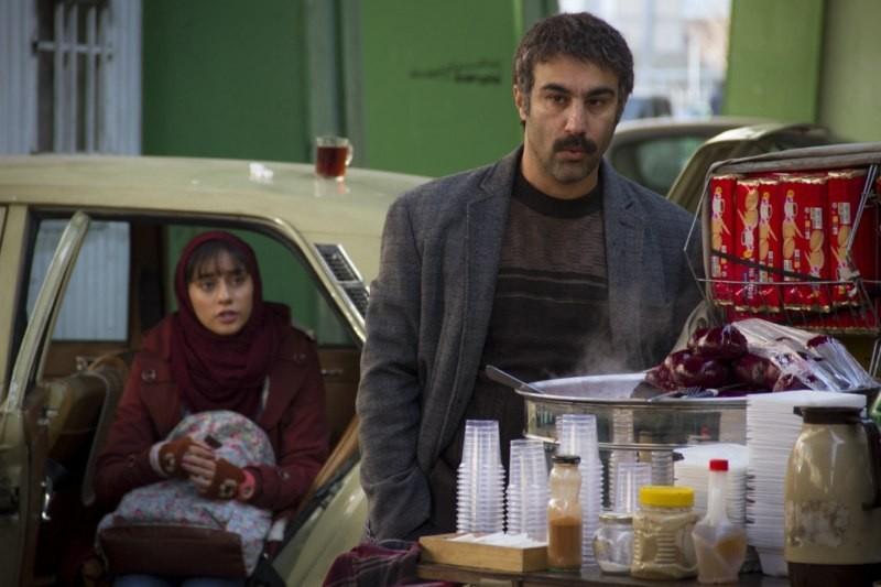 محسن تنابنده و ترلان پروانه در فیلم فراری
