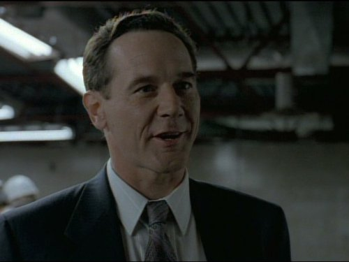 Timothy Webber در صحنه سریال تلویزیونی پرونده های ایکس