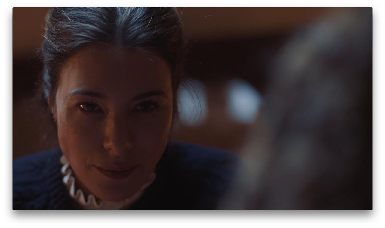 Jaime Murray در صحنه فیلم سینمایی The Nanny