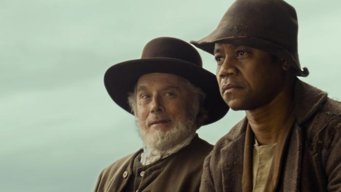 Michael Goodwin در صحنه فیلم سینمایی Freedom به همراه کوبا گودینگ جونیور