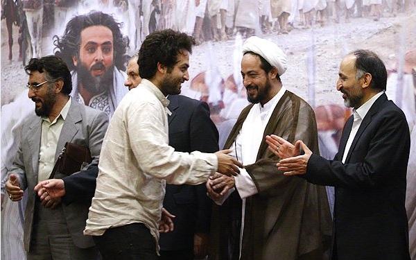فرجالله سلحشور در نشست خبری سریال تلویزیونی یوسف پیامبر به همراه مصطفی زمانی