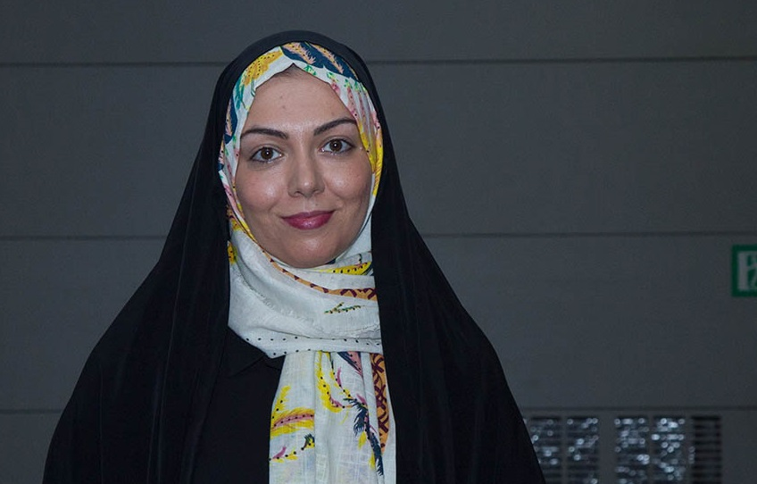 آزاده نامداری در اکران افتتاحیه فیلم سینمایی مالاریا