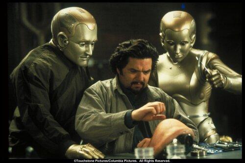 Kiersten Warren در صحنه فیلم سینمایی مرد دویست ساله به همراه رابین ویلیامز و اولیور پلات