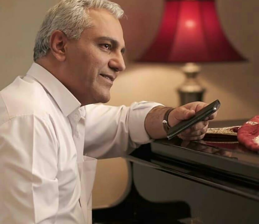مهران مدیری در پشت صحنه سریال شبکه نمایش خانگی هیولا