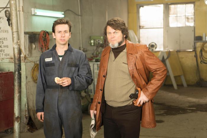نیک آفرمن در صحنه سریال تلویزیونی فارگو - فصل 1 قسمت 10 به همراه Dan Beirne