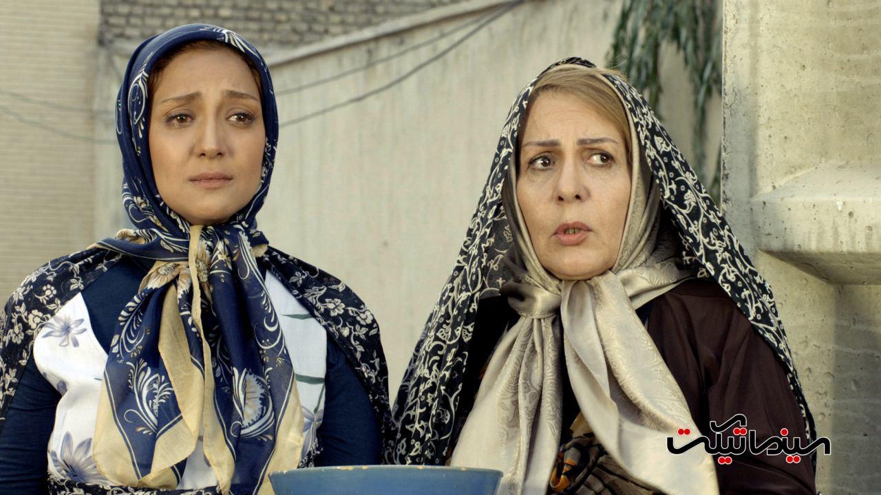 پوراندخت مهیمن در صحنه فیلم سینمایی چهار اصفهانی در بغداد
