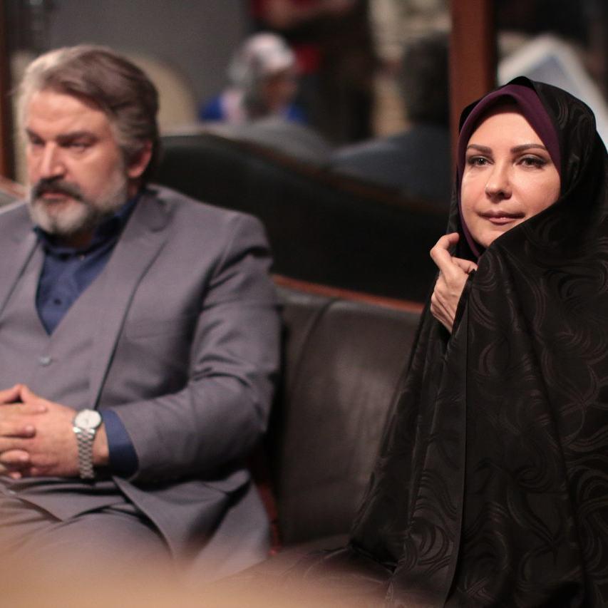 لعیا زنگنه و مهدی سلطانی در سریال پدر