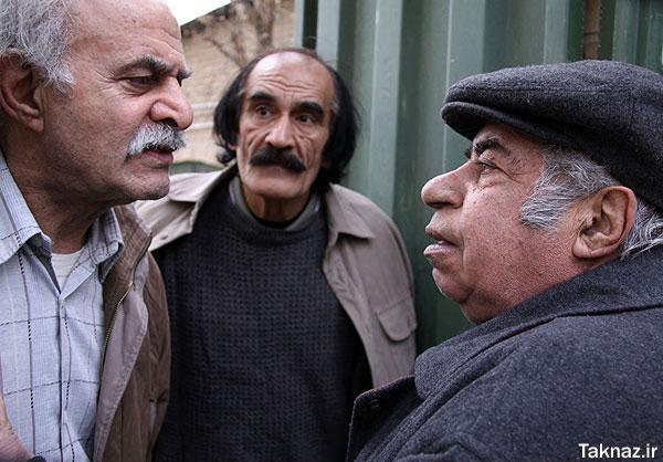 محمود بهرامی در صحنه سریال تلویزیونی زنبابا