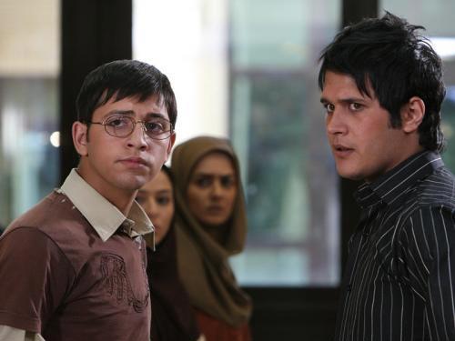 سیاوش خیرابی و محسن افشانی در سریال تلوزیونی ترانه مادری