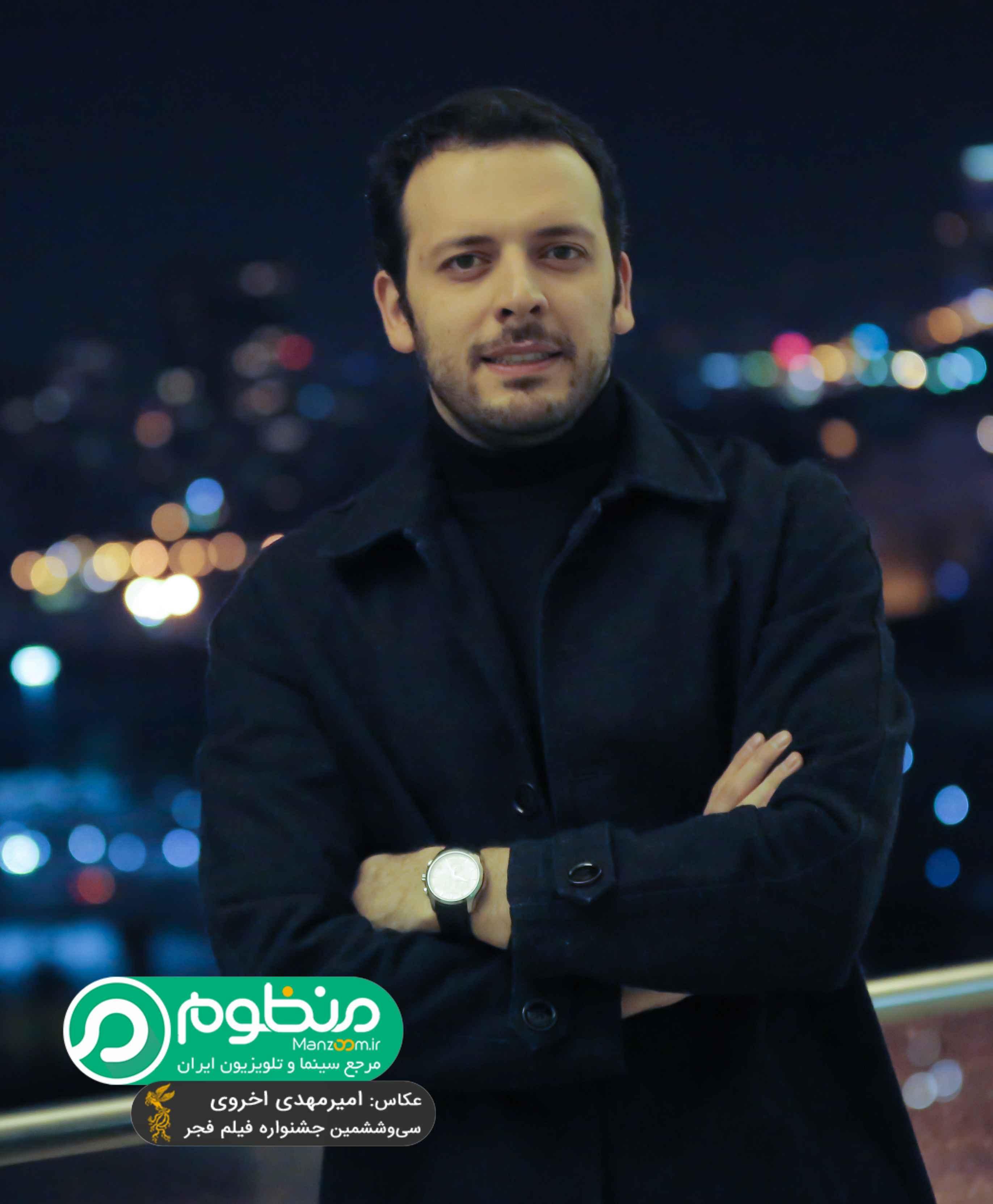 پدرام شریفی، بازیگر سینما و تلویزیون - عکس جشنواره