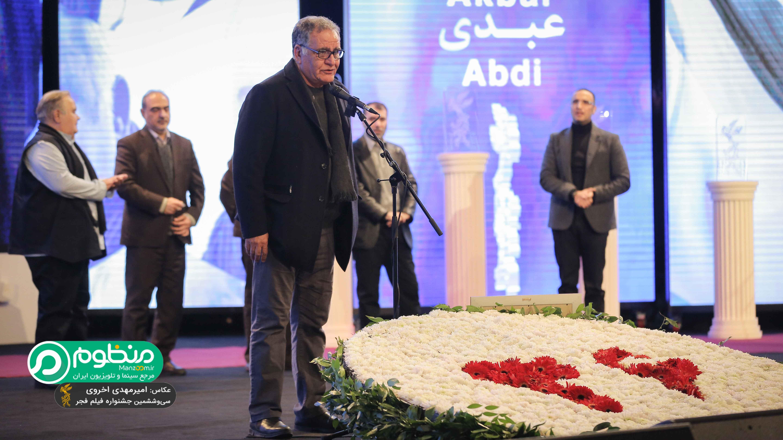 رسول صدرعاملی، تهیه کننده و کارگردان سینما و تلویزیون - عکس جشنواره