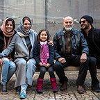پشت صحنه فیلم سینمایی دارکوب با حضور جمشید هاشمپور، امین حیایی، مهناز افشار و سارا بهرامی