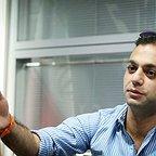 صابر ابر، بازیگر و کارگردان سینما و تلویزیون - عکس مراسم خبری