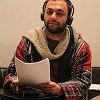 تصویری از صابر ابر، بازیگر و کارگردان سینما و تلویزیون در پشت صحنه یکی از آثارش