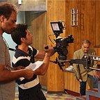 پشت صحنه فیلم سینمایی تارات با حضور اکبر عبدی و پدرام بهرامیفر
