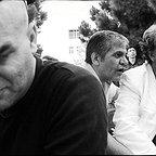 پشت صحنه فیلم سینمایی قاتل اهلی با حضور مسعود کیمیایی، فرشاد محمدی و منصور لشگریقوچانی