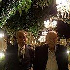 تصویری شخصی از محمدعلی کشاورز، بازیگر و کارگردان سینما و تلویزیون به همراه علی نصیریان