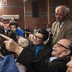 محمدعلی کشاورز، بازیگر و کارگردان سینما و تلویزیون - عکس مراسم خبری