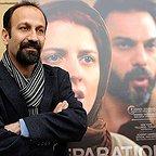 اصغر فرهادی، نویسنده و کارگردان سینما و تلویزیون - عکس اکران
