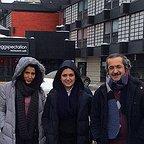 تصویری شخصی از آیدا کیخایی، بازیگر و کارگردان سینما و تلویزیون به همراه باران کوثری و محمد یعقوبی