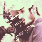 تصویری شخصی از معینرضا مطلبی، مدیر فیلم برداری سینما و تلویزیون