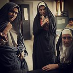 پشت صحنه فیلم سینمایی شیار ۱۴۳ با حضور مریلا زارعی و محیا دهقانی