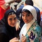 تصویری شخصی از آیدا کیخایی، بازیگر و کارگردان سینما و تلویزیون به همراه باران کوثری