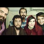 تصویری از مینا وحید، بازیگر سینما و تلویزیون در پشت صحنه یکی از آثارش