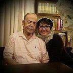 تصویری شخصی از محمدعلی کشاورز، بازیگر و کارگردان سینما و تلویزیون به همراه آناهیتا همتی
