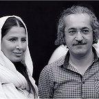 تصویری شخصی از آیدا کیخایی، بازیگر و کارگردان سینما و تلویزیون به همراه محمد یعقوبی