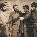 فیلم سینمایی ایستاده در غبار با حضور هادی حجازیفر و ابراهیم امینی
