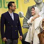 اکران افتتاحیه فیلم سینمایی ایتالیا ایتالیا با حضور حامد کمیلی و سارا بهرامی