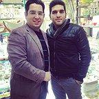 تصویری شخصی از محمدرضا احمدی، بازیگر و مجری سینما و تلویزیون