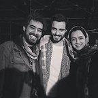 پشت صحنه فیلم سینمایی فروشنده با حضور ترانه علیدوستی، سید شهاب حسینی و عماد امامی