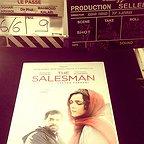 پشت صحنه فیلم سینمایی فروشنده با حضور ترانه علیدوستی و سید شهاب حسینی