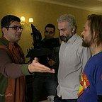 پشت صحنه فیلم سینمایی کاتیوشا با حضور علی عطشانی و هادی حجازیفر