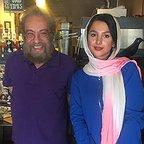 تصویری شخصی از جوانه دلشاد، بازیگر سینما و تلویزیون به همراه مسعود فراستی