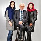 تصویری شخصی از جمشید مشایخی، بازیگر و مهمان سینما و تلویزیون به همراه نسرین مقانلو
