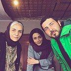 پشت صحنه سریال تلویزیونی دل دار با حضور مریم بوبانی، محمدرضا غفاری و سوگل خلیق